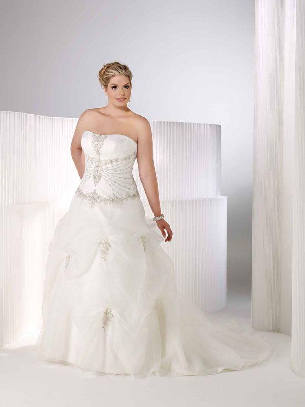 Private Label Signature Plus Wedding Dresses Style 3353