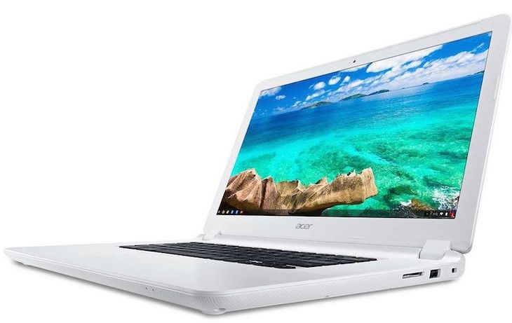 Acer announces industry first 15.6″ Chromebook and new touchscreen versions of the Chromebook 13.  Acer has kicked off CES early announcing a new, larger screen model in their Chromebook line, announcing the Acer Chromebook 15 – a Chromebook with the largest available screen yet. They've also announced that their Nvidia Tegra K1 powered Chromebook 13 line will be expanding with touch-screen models. [READ MORE HERE]