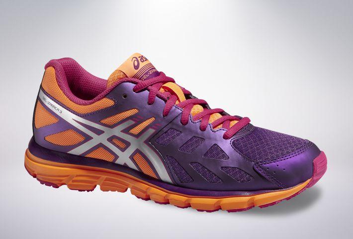 Asics GEL-Zaraca 3 - damskie buty do biegania (fioletowo-pomarańczowy) #asics  https://dotsport.pl/asics-gel-zaraca-3-damskie-buty-do-biegania-fioletowo-pomaranczowy.html