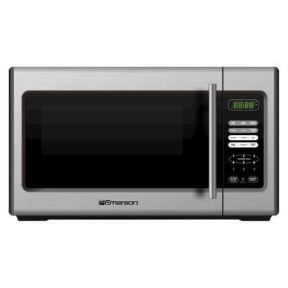 Emerson 900-Watt Microwave - Stainless Steel (MW9338SB) $59.99