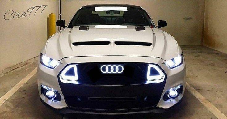 #Audi #Mustang #GT   @cira977 • ————————————————————————————— Follow us  @audi_obsession #audi_obsession #audiobsession —————————————————————————————- • • • • • #white #fordmustang #ford #tuning...