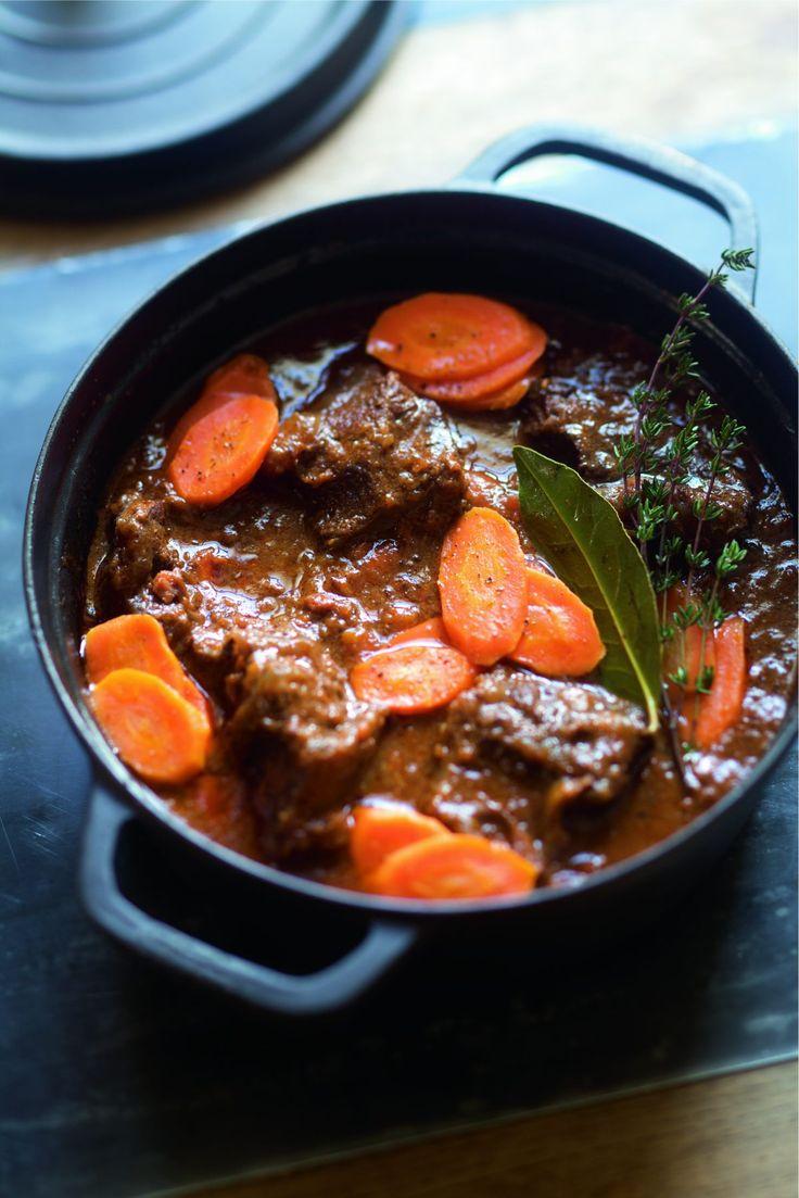 Les 25 meilleures id es de la cat gorie boeuf carotte sur pinterest recette boeuf carotte - Joue de porc en cocotte minute ...