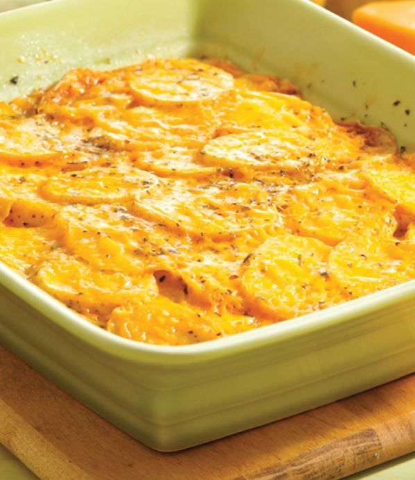 Quick & Easy Potato Casserole #veggies #dairy #MyPlate #WhatsCooking (Source: MyPlate)