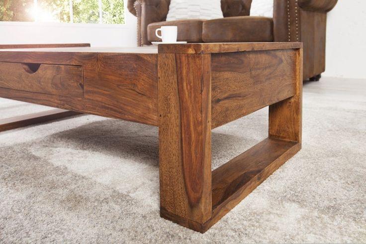 Konferenčný stolík z masívneho dreva MARKANT.