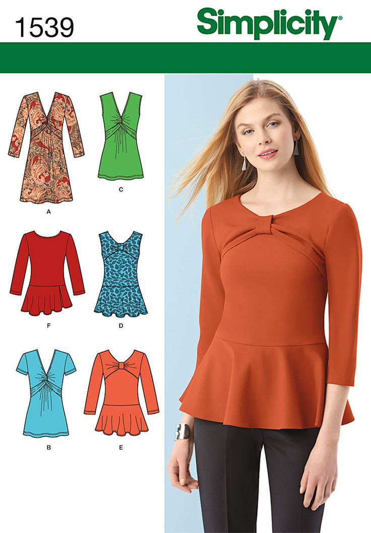 simplicity patterns 1539 - Buscar con Google: