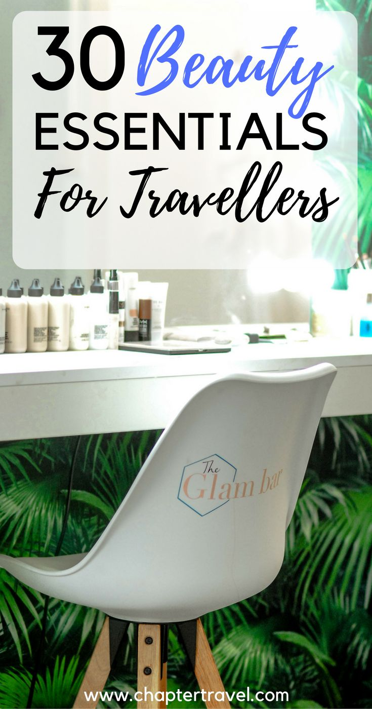 Beauty Essentials for Travellers | Travel-sized Beauty Items | Beauty Products That Can Be Packed in a Carry-on | What to Pack for Travelling | Useful Beauty Products