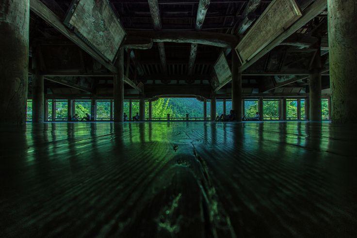 https://flic.kr/p/xPrjWU | 宮島・千畳閣 | 現像しなおし版