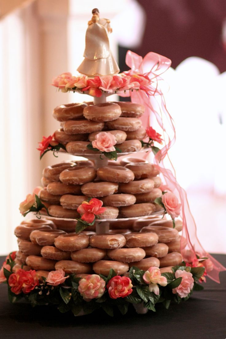 Best 25 krispy kreme wedding cake ideas on pinterest krispy krispykremeweddingcake fun and simple krispy kreme wedding cake junglespirit Choice Image