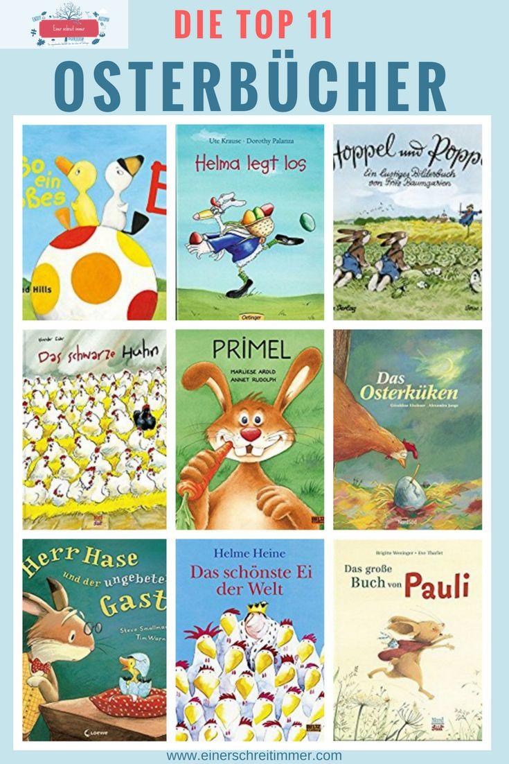 Unsere liebsten Kinderbücher für Ostern - Osterbücher für Kinder zum Vorlesen