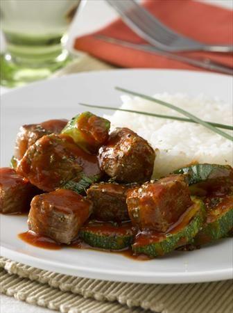 ¡Lo sano del Zapallito, mezclado con lo sabroso de la carne, ñam!