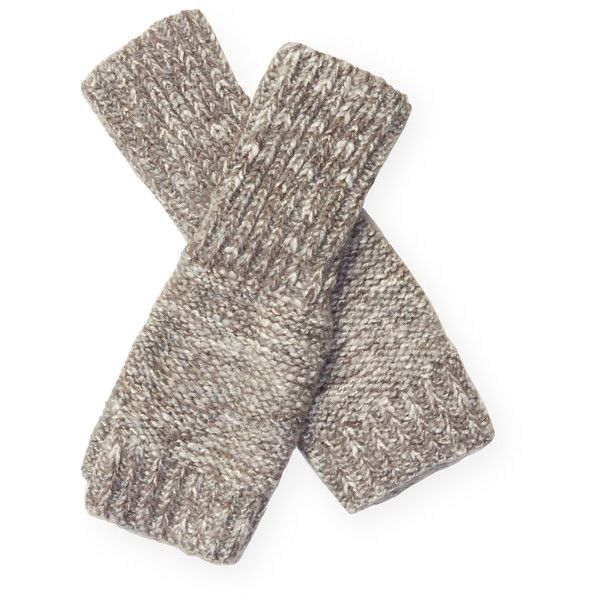 Genie by Eugenia Kim Women's Steff Fingerless Glove - Light/Pastel... ($39) ❤ liked on Polyvore featuring accessories, gloves, fingerless gloves, grey fingerless gloves, genie by eugenia kim, gray gloves and grey gloves