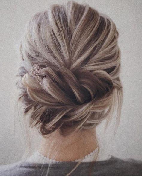Trendy Hochsteckfrisuren für mittellanges Haar, Hochsteckfrisur Frisur Ideen