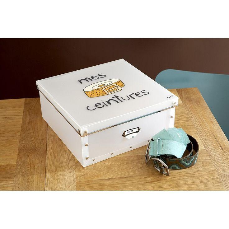 Коробка для ремней Mes Ceintures