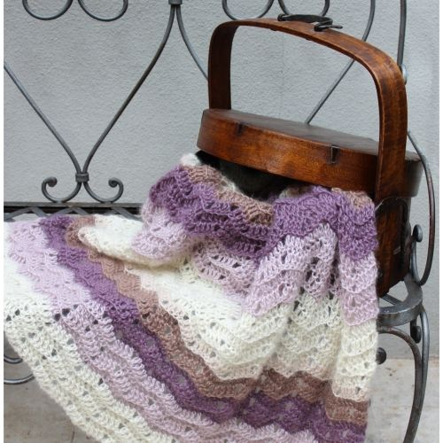 1000 Images About Crochet Blankets On Pinterest Ripple