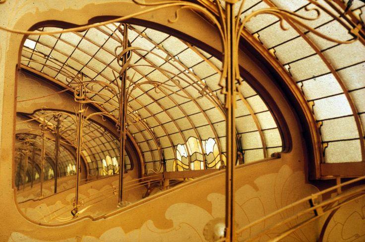 17 best images about designer victor horta on pinterest for Art nouveau fenetre