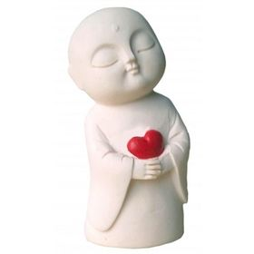 Jizo of Love Japanese Statue 12cm. Available at www.threemadfish.com