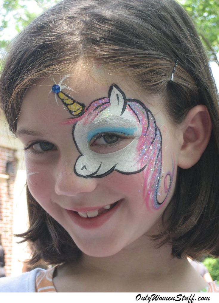 15 Simple Kids Face Painting Ideas For Little Girls Body Art