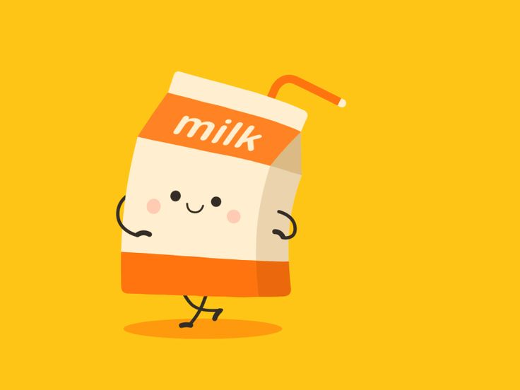 Have some milk by Ding #Design Popular #Dribbble #shots