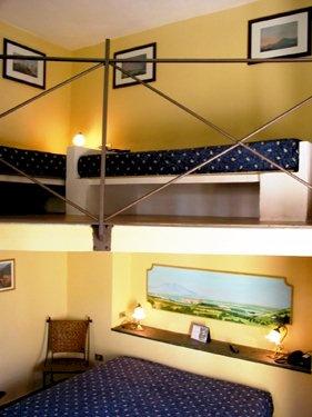 Hotel Villa Medici Naples, open space room