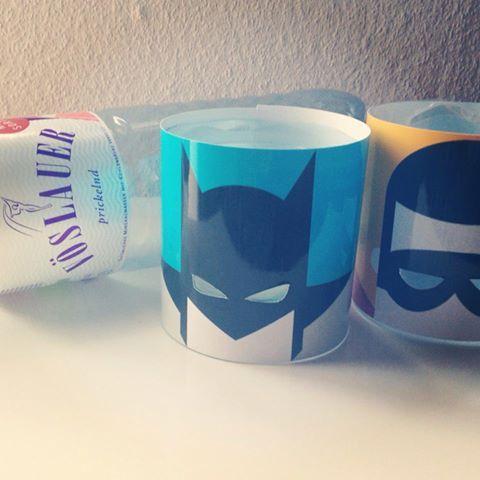 DIY Teelichthalter Batman