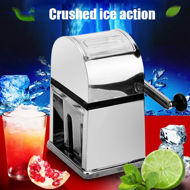 1pc Manual Ice Crusher Shaver Snow Drink Slushy Maker Blender Cocktail Maker stainless steel shaved ice shaver machine //Price: $US $31.55 & FREE Shipping //     #kitchenappliances