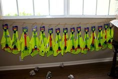 garbage truck themed birthday party food | Trash Themed Garbage Truck Party - Spaceships and Laser Beams