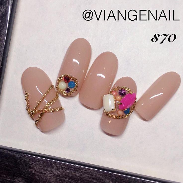 November Limited Design!!!! Created by @keikodonna #nailart #nails #topnails…