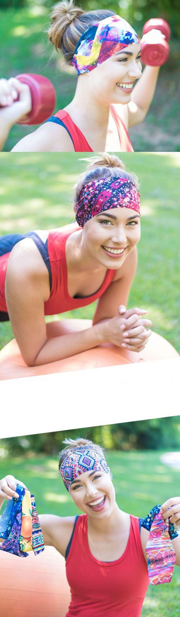 Fabric Flower Yoga Headband – Yoga Shop