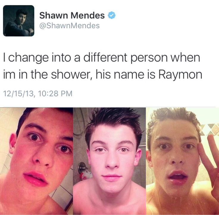 Hi Raymon >> why does shawn have all of these alter egos like