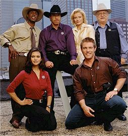 Walker, Texas Ranger - (1993-2005). Starring: Chuck Norris, Clarence Gilyard, Sheree J. Wilson, Noble Willingham, Nia Peeples and Judson Mills,