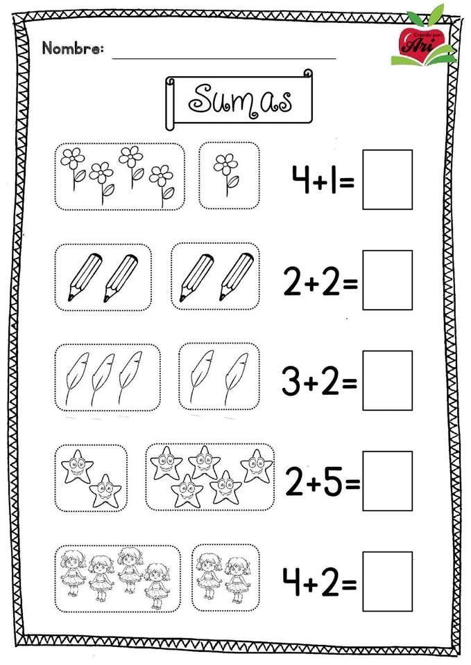 Lapbook Plantillas Acordeon Para Imprimir Lapbook Plantillas Acordeon In 2020 Kids Math Worksheets Preschool Math Worksheets Kindergarten Math Worksheets Addition