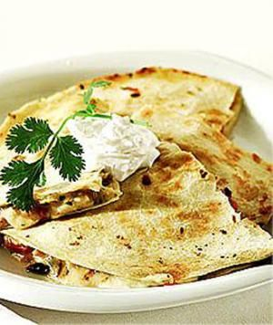 Wolfgang Puck's Cheese Quesadillas with Fresh Guacamole