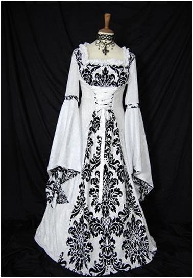 Vestiti da sposa medievali | Stile e bellezza