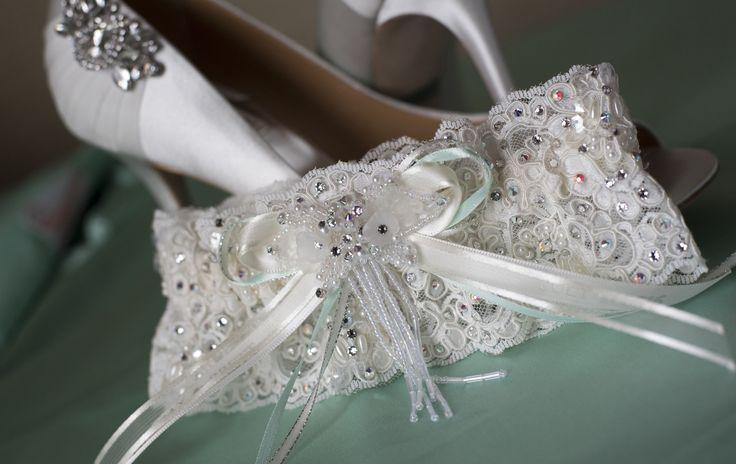 Custom Lace Garter By Wedding Bliss In Oak Lawn