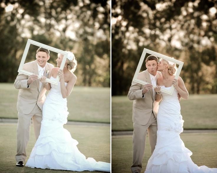 Fun with frames! #photography, #frame, #wedding, #bride, #groom