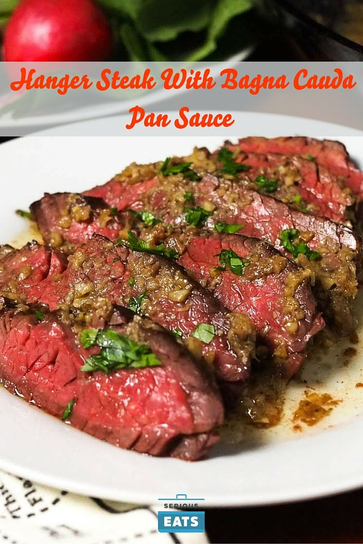 A classic Northern Italian sauce for dipping vegetables gets a new life as a pan sauce for steak.