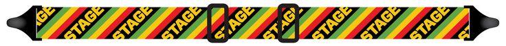 Stage Diagonal Rasta Strap