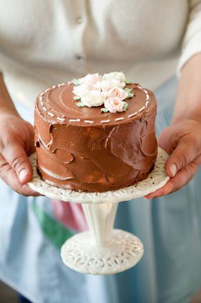 Chocolate Heaven Cake.....I will never make another chocolate cake recipe again.  Perfect in every way.