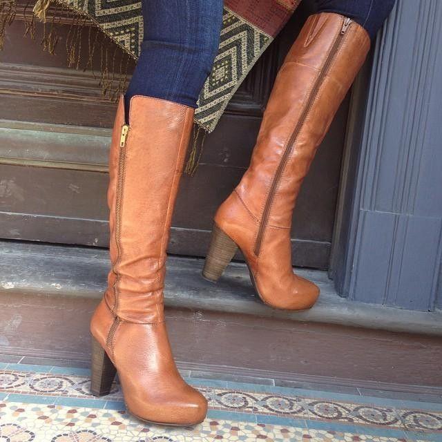 Black Knee High Heel Boots | Steve Madden Rikki Boots
