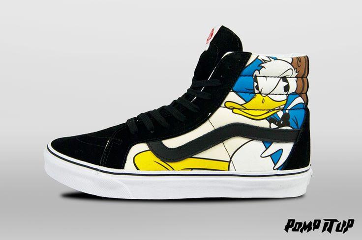 Vans SK8-HI Reissue (Disney) Mickey&Friends/Bk For Men Sizes: 39 to 44.5 EUR Price: CHF 110.- #Vans #VansSK8 #VansSK8HI #VansSK8HIReissue #Disney #VansMickeyFriends #VansEra #Sneakers #SneakersAddict #PompItUp #PompItUpShop #PompItUpCommunity #Switzerland