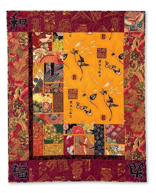 really cool quilt I want to make from all my asian fabrics...an homage to my grandmother who loved all things asian
