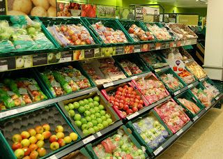 Your Local Tesco Flitwick Superstore: Thursdays fruit and veg department, looking excellent, ready for our customers.
