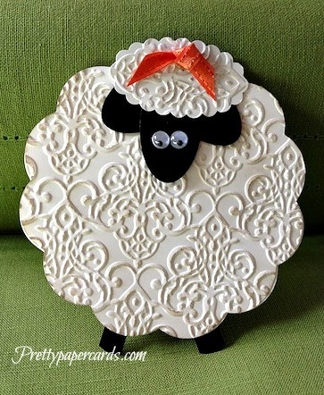 Darling Lamb Card...