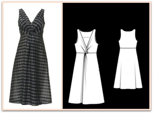 Burda Twist Front Dress