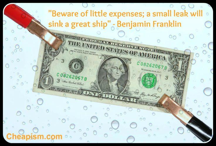 Small leak sinks ship