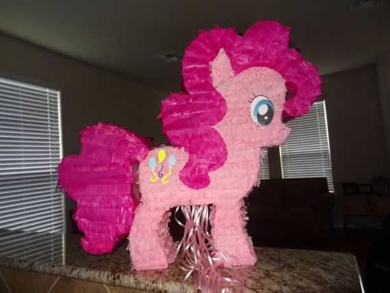 My Little Pony Pinkie Pie Pinata for your by Vintagebabydoll