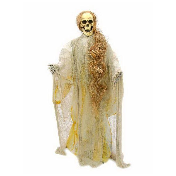 Halloween-Figur Zoll Zombie Zoll , UV-aktiv 175cm