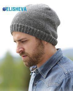 Простое вязание спицами: мужская шапка от Drops Design