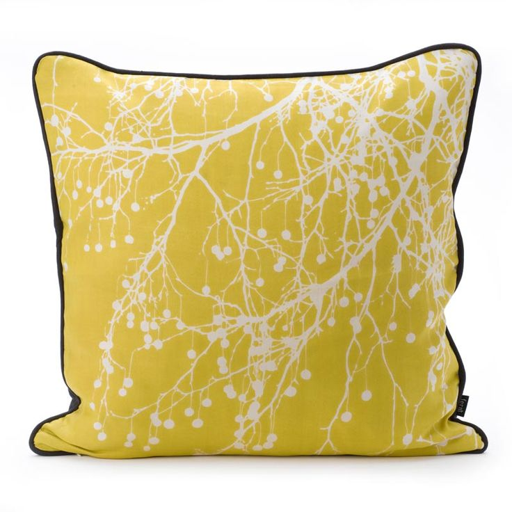 One of the items on our Spring for yellow blog post - up now!: Fermliving, Ferm Living, Cushions, Trees, Bomb Cushion, Pillows, Curries