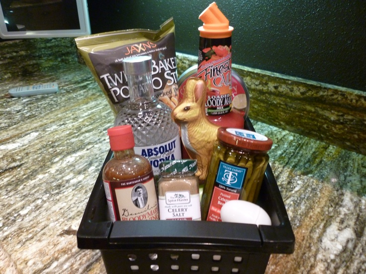 Bloody Mary Adult Easter Basket Party Ideas Pinterest